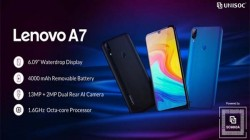 Lenovo A7 Budget Smartphone With Unisoc SC9863 SoC Launched
