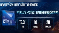 Intel Core i9-10900K Announced With 5.3GHz Single Core Frequency For $488