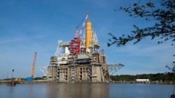 NASA Space Launch System Green Run Tests Begin; To Help Artemis Mission