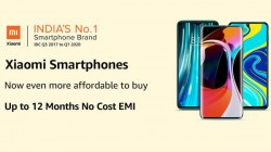 Amazon Offers Up To 12 Month No Cost EMI On Xiaomi Smartphones