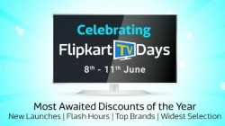 Flipkart TV Days Sale : Best Deals And Discounts On Mi And Motorola Smart TV and More