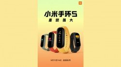 Xiaomi Mi Band 5 Color Variants Revealed Ahead Of Launch