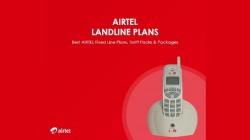 Airtel Landline Bill Payment: How To Pay Airtel Landline Bill Online