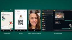 WhatsApp Update Brings QR Codes, Improved Video Calling, Animated Stickers