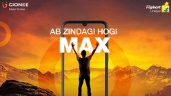 Gionee Max Design Teased By Flipkart Ahead Of Launch