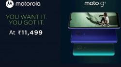 Moto G9 Price Revealed On Flipkart Ahead Of Official Launch