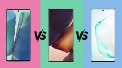 Samsung Galaxy Note20 Vs Note20 Ultra Vs Galaxy Note10 Plus