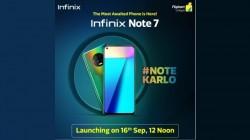 Flipkart Teases Infinix Note 7 Ahead Of Launch On September 16