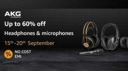 Amazon AKG Pro: Up To 50% Off On Headphones, Microphone And More