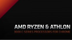 AMD Ryzen 3000 C-Series And Athlon 3000 C-Series Chromebook CPUs Launched