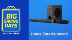Flipkart Big Saving Days Sale 2020: Up To 60% Discount On Home Entertainment Devices