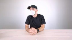 Video: Apple Mask Offers Three-Layered Filtration In A Minimalist Design