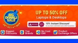 Flipkart Big Diwali Sale: Upto 50% Off On Laptops And Desktops