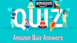 Amazon Quiz Answers Today December 9: Win Rs. 25,000 Amazon Pay Balance