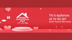 Flipkart Grand Home Appliances Sale Goes Live! Offers On Smart TVs and Other Products