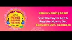Paytm Maha Shopping Festival: Holi Discount Offers On Electronics Gadgets