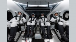 SpaceX Falon 9 Rocket Carries Four Astronauts To ISS Successfully; Lands Back On Earth