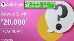 Amazon Quiz Contest Answers For April 30, 2021: Win Rs. 20,000 Amazon Pay Balance