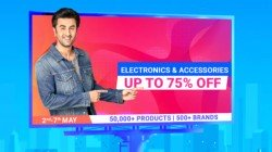 Flipkart Big Saving Days Sale: Up To 75% Off On Electronics And Accessories