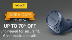 Jabra Days Sale May On Amazon: Discounts On Jabra Elite 75t, Jabra Talk 30 And More