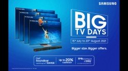 Samsung Big TV Days Sale: Get Free Soundbar Of Up To Rs. 1,04,900 And EMIs As Low As Rs. 1,990 On Premium TVs