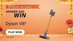 Amazon Dyson V8 Quiz Answers: Win Cord-Free Vacuum Cleaner