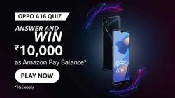 Amazon Oppo A16 Series Quiz Answers: Win Rs. 10,000 Amazon Pay Balance