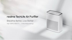 Realme TechLife Air Purifier To Be Launched In India Next Week