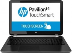 HP Pavilion 14-n296tx Notebook (4th Gen Ci5/ 4GB/ 1TB/ Win8.1/ Touch) (J8B57PA)