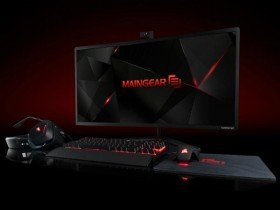 Maingear Alpha 34 is a 34-inch Curved Gaming AIO PC launched with Liquid cooling, 18-core Xeon CPU!