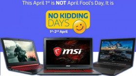 Flipkart No Kidding Days on Apr 1st to 2nd: heavy offers on gaming laptops