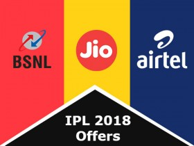 Reliance Jio vs Airtel vs BSNL IPL 2018 live streaming offers compared