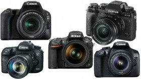 Upto 30% off on DSLR Cameras: Nikon, Canon, Sony and more