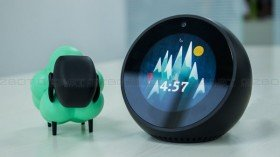 Amazon Echo Spot review: The best looking Echo device