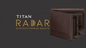 Titan Radar smart wallet: The most advanced smart wallet from Titan with genuine leather