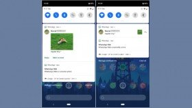WhatsApp Android beta gets inline image style for notifications; Biscuit sticker pack coming soon
