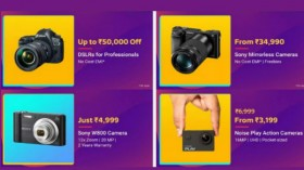 Flipkart Big Billion Day Sale: Up to 40% off on cameras