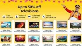 Amazon Great Indian Festival Sale: Avail up to 50% off on TVs