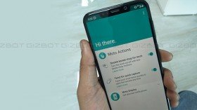 How to use Moto actions in Motorola One Power budget smartphone