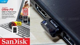 SanDisk Ultra Fit USB 3.1 flash drive review: Amazing read and write speeds
