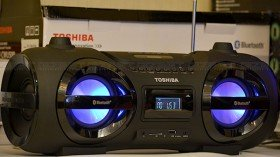 Toshiba launches new audio products, partners with TeknoDome