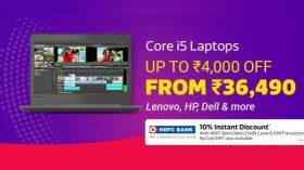 Flipkart Big Shopping Days Sale Offers: Get discounts on Core i5 Laptops from Apple, Dell and more