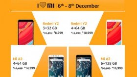 'I Love Mi Sale' on Amazon (6th to 8th Dec): Avail special discounts on Mi smartphones