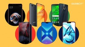 List of budget smartphones launched in 2018