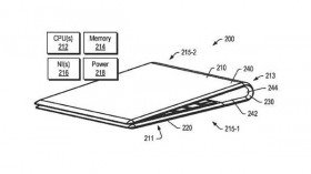 Lenovo patents for a foldable display laptop with OLED screen