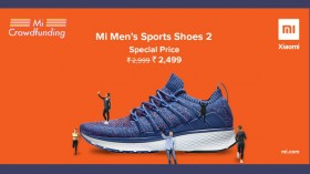 Xiaomi Mi Men's Sports Shoes 2 now available in India for Rs 2,499