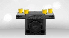Sony launches GTK-PG10 party speakers with cup holders in India