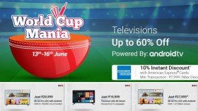 Flipkart World Cup Mania: Buying Your Dream Smart TV Is Now Affordable