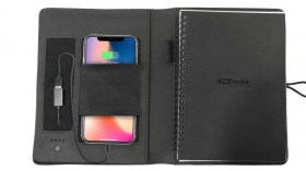 Portronics 'Power Wallet 10K: Travel Organizer With Built-in 10,000mAh Power Bank