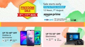 Amazon Freedom Sale 2019 Preview Offers – Upto 80% off on Mobiles, Electronics And Other Products
